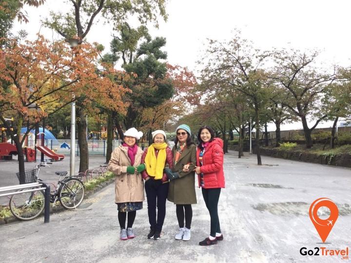 Trang phục mùa đông ở Nhật Bản
