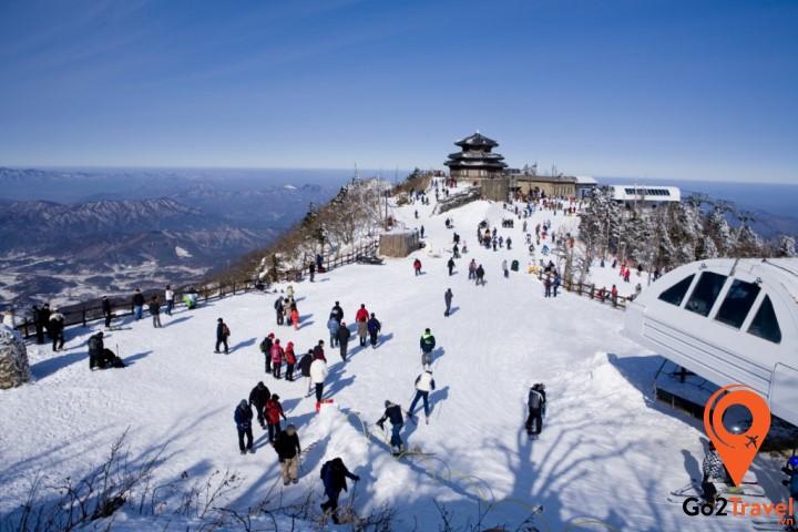 Các khu trượt tuyết tại đây sẽ mang lại cho bạn những trải nghiệm tuyệt vời nhất