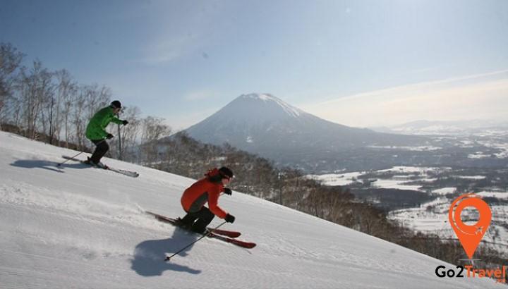 Trượt tuyết tại Hokkaido Niseko Resort