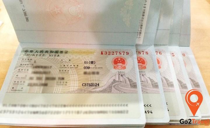 Lưu ý việc xin visa