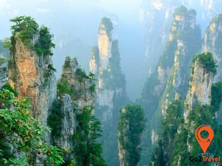 Phong cảnh hữu tình tại Vũ Lăng Nguyên