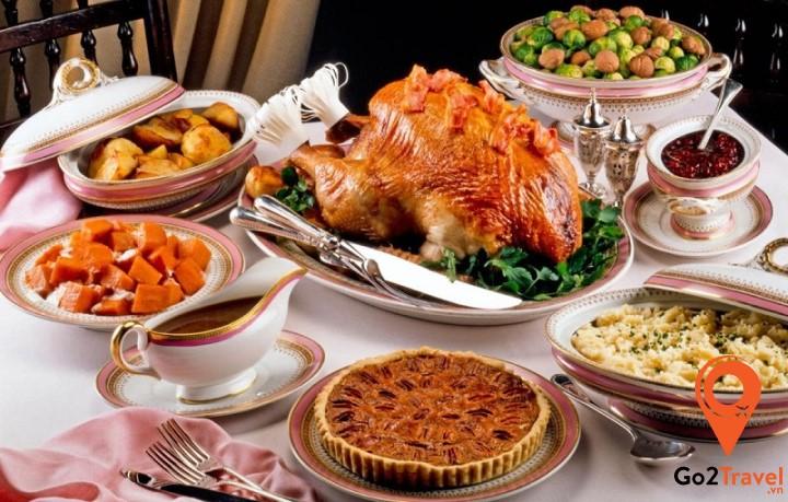 Ẩm thực tại Mỹ rất đa dạng với đầy đủ món ăn của các nền văn hóa