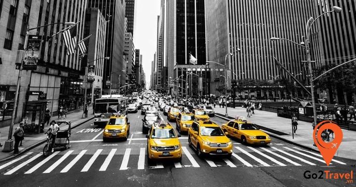 Phương tiện giao thông tại Mỹ rất đa dạng