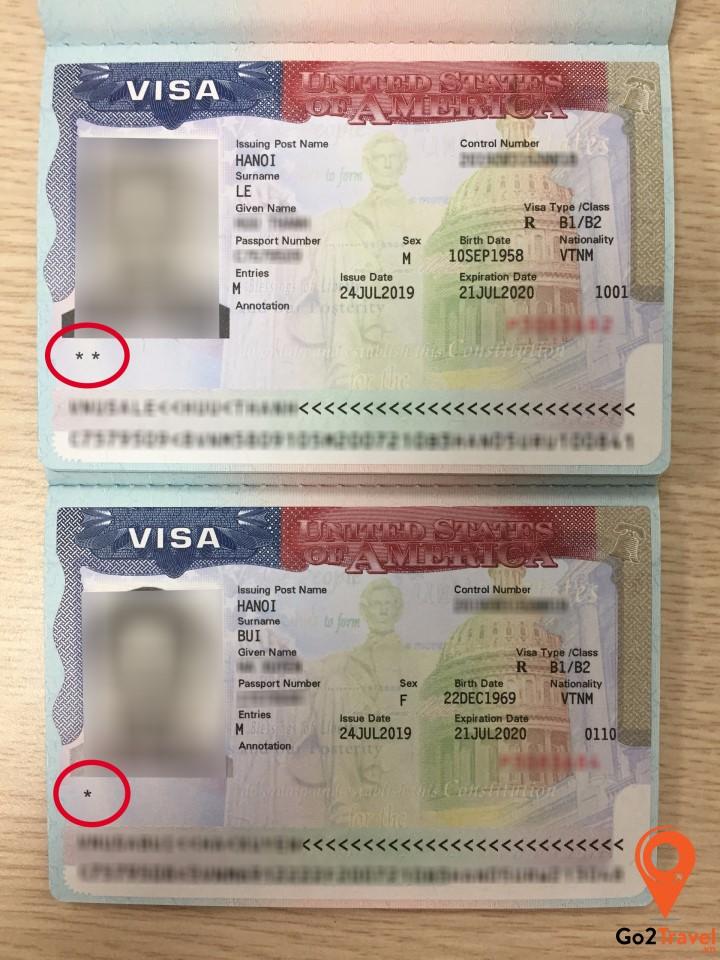 Ý nghĩa các ngôi sao trên visa Mỹ