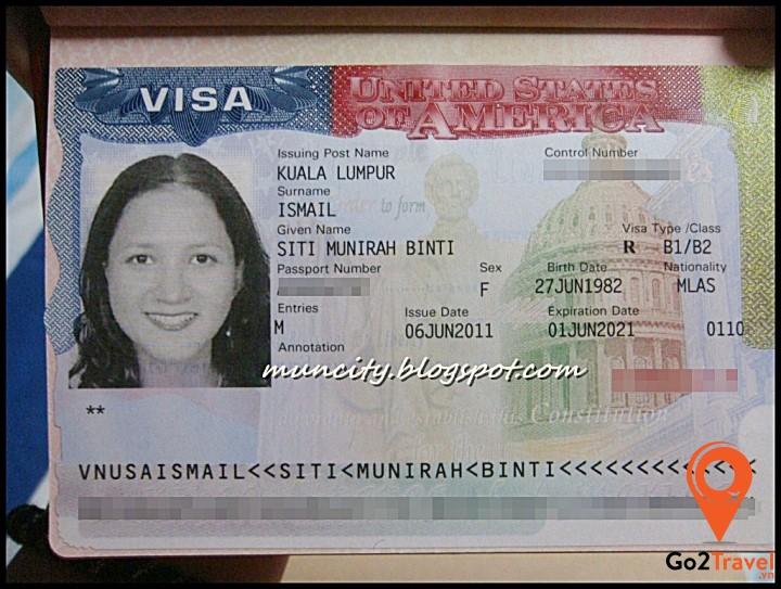 Visa Mỹ loại B1/B2 là gì?