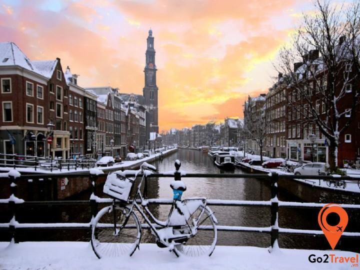 Nét cuốn hút riêng của mùa đông Hà Lan