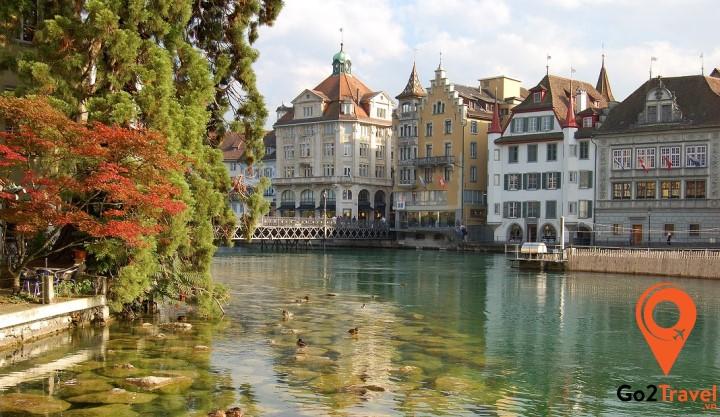 Thành phố xinh đẹp Lucerne