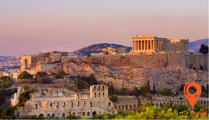 Athens được biết đến như là cái nôi của nền văn minh phương Tây