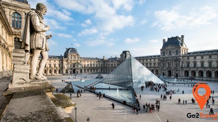 Bảo tàng Louvre - Một trong những bảo tàng lớn nhất thế giới