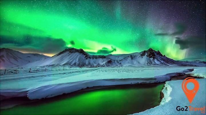 Iceland được xem là đất nước tuyệt vời nhất để săn cực quang