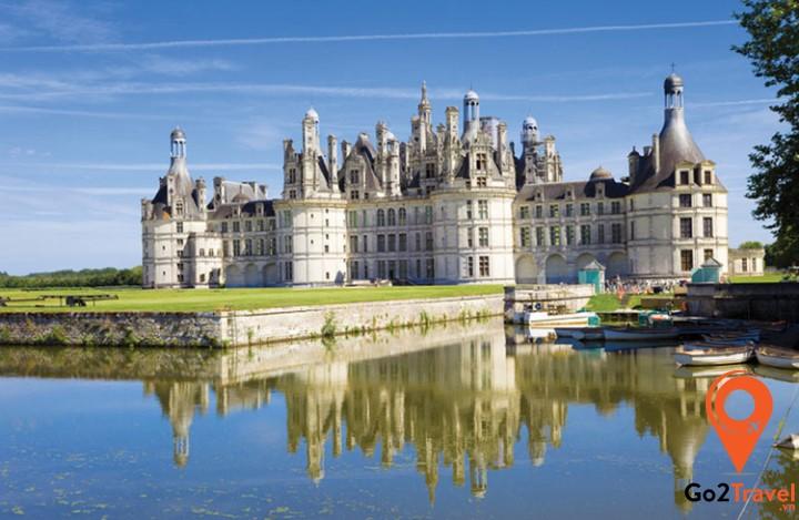Lâu đài Chambord – quốc bảo của đất nước Pháp