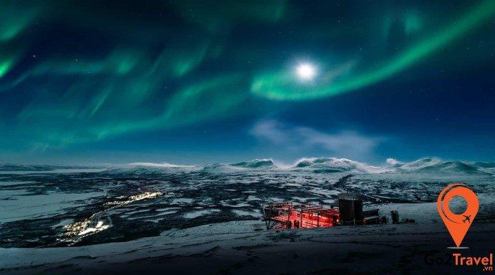 6 địa điểm ngắm cực quang đẹp nhất thế giới