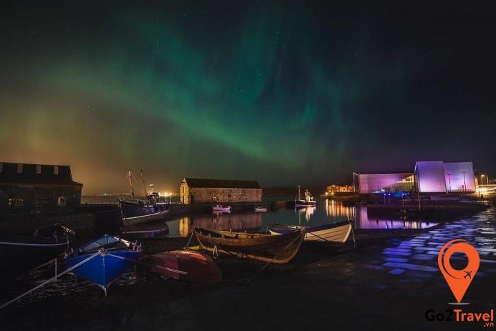 Shetland là một địa điểm cực kỳ lý tưởng để ngắm cực quang