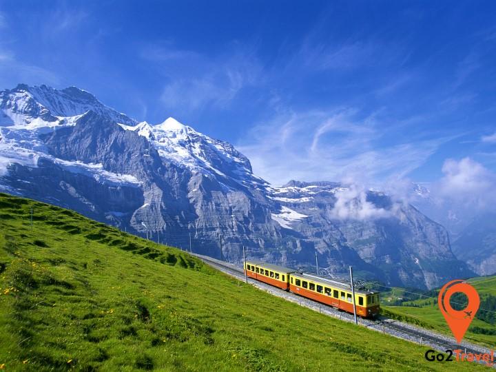 Tàu hỏa đi du lịch Châu Âu