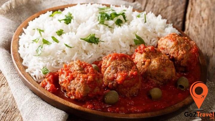 Trong ẩm thực Hy lạp, thịt viên Keftedes là món ăn 'khoái khẩu' của trẻ em Hy Lạp