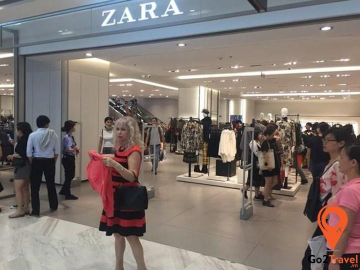 Zara là một trong những thương hiệu thời trang bạn nên lựa chọn