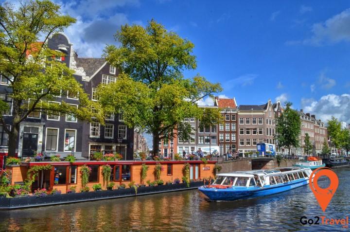 Amsterdam – Thủ đô phồn hoa nổi danh về chất lượng giáo dục