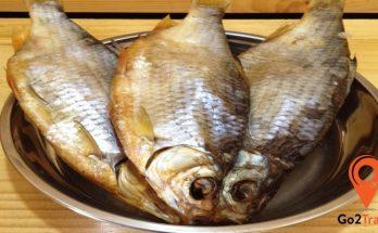 Cá khô Vobla Astrakhan - 1 trong những đặc sản nước Nga