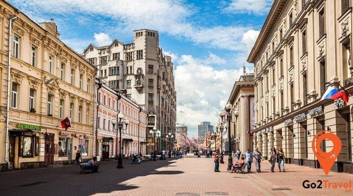 5 địa danh không thể bỏ qua khi đến Nga
