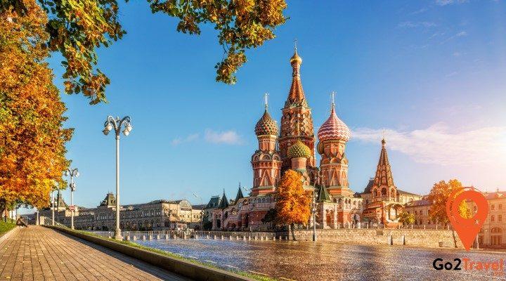 Kinh nghiệm du lịch Nga cần biết