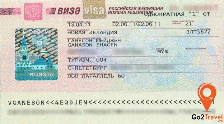 Bí quyết xin visa Nga không cần giấy mời