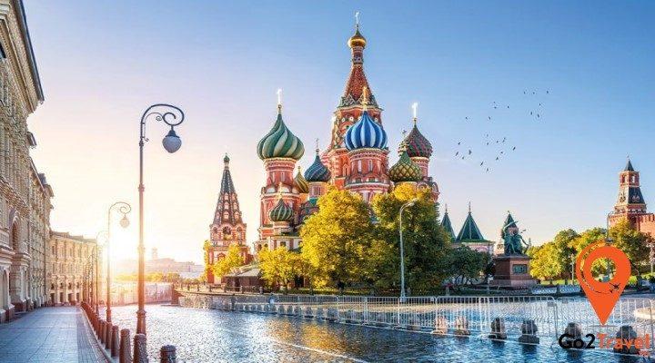 Nước Nga vào mùa hè