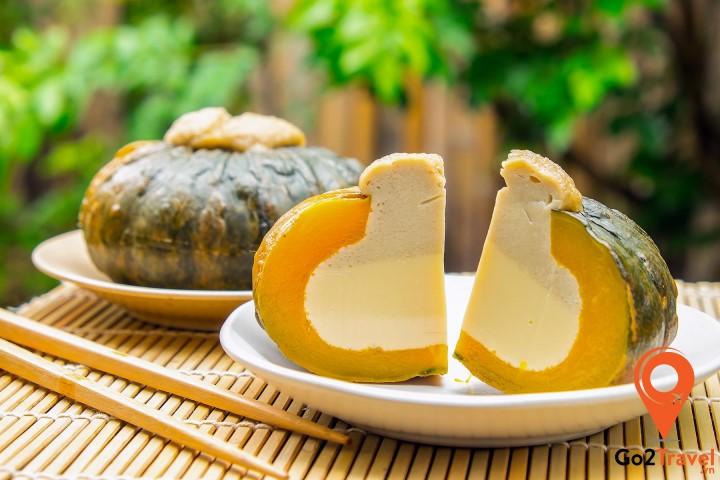 Món ăn từ quả bí ngô
