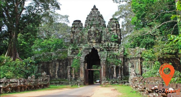 Vẻ đẹp cổ kính của Angkor Wat