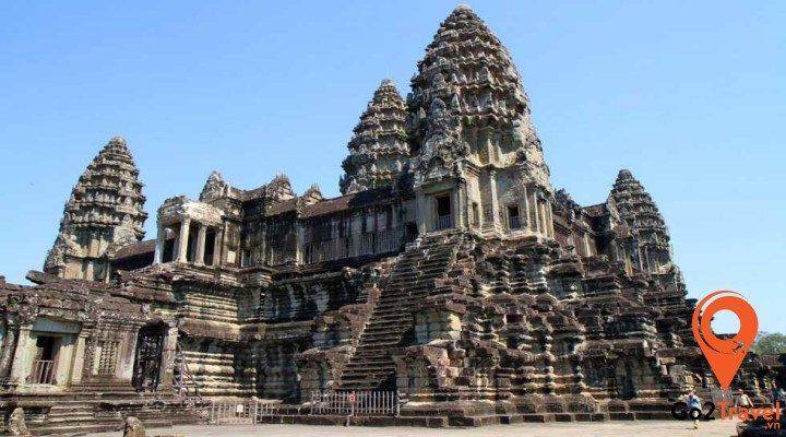 Khám phá đền Angkor Wat - niềm tự hào của người Campuchia