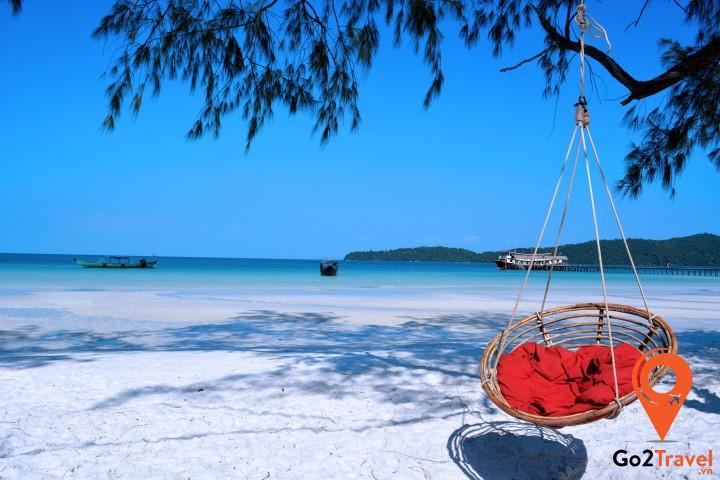 Đảo Koh Rong - điểm trốn lý tưởng cho ngày hè nóng nực