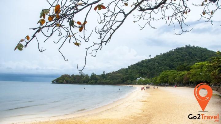 Thành phố biển Kep nằm ở phía Nam Campuchia