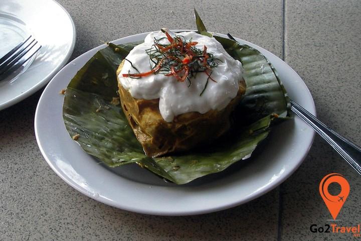 Các món ăn chủ yếu có nguồn gốc từ lúa gạo