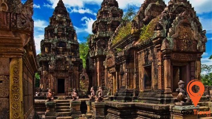 Ngôi đền được xem là tuyệt đỉnh của nghệ thuật trên đá