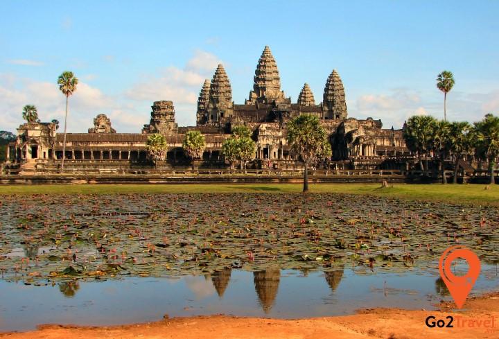 Khu di tích Angkor ở Siem Reap