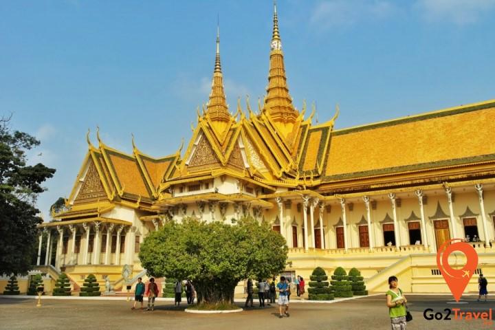 Chùa Vàng – Chùa Bạc Campuchia