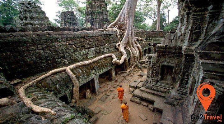 Những địa điểm du lịch nổi tiếng của Campuchia