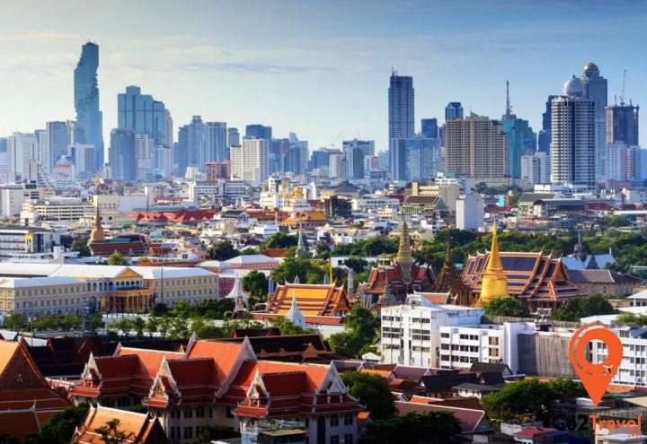 Bangkok có nhiều chùa với nét văn hóa Phật giáo ấn tượng