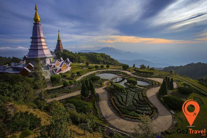 Chiangmai công trình kiến trúc chùa chiền đặc sắc