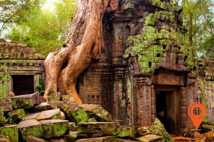 Tàn tích cổ xưa huyền bí của Angkor