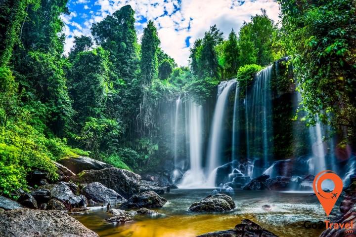 Kulen còn là di tích lịch sử quan trọng của đế chế Angkor