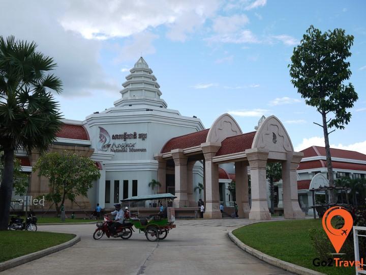Bảo tàng trưng bày các di vật từ thời kì tiền Angkor