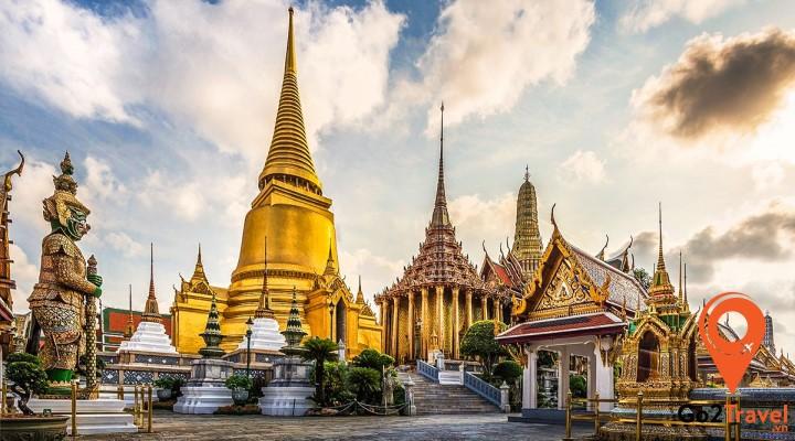 Hoàng cung Thái Lan nguy nga tráng lệ