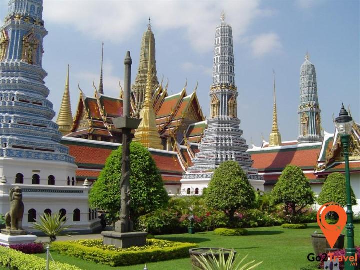 Bảo tàng quốc gia được xây dựng từ năm 1782 và là niềm tự hào của người dân Thái