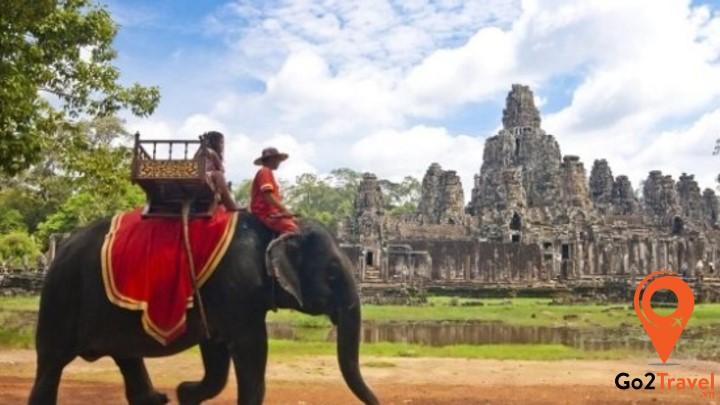 Khí hậu Campuchia có 4 mùa nhưng nhìn chung đều có ngưỡng nhiệt độ ở mức cao