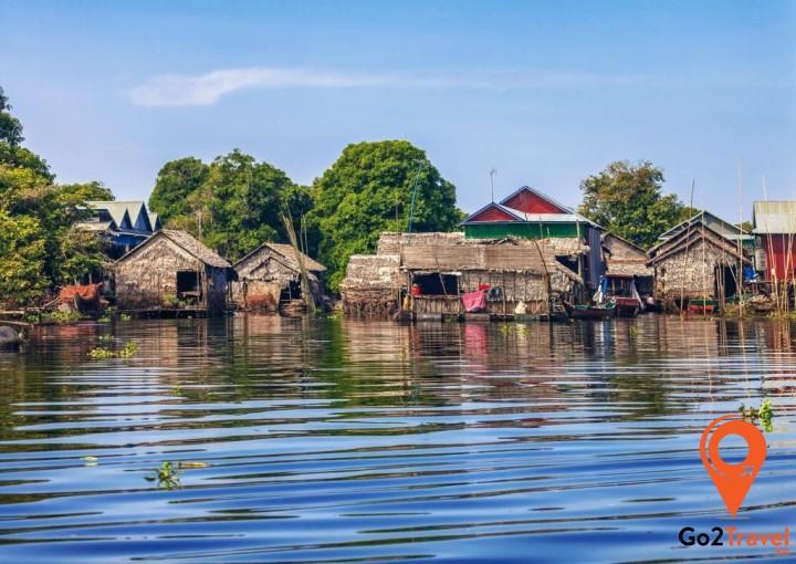 Tonle Sap - Biển Hồ lớn nhất Đông Nam Á