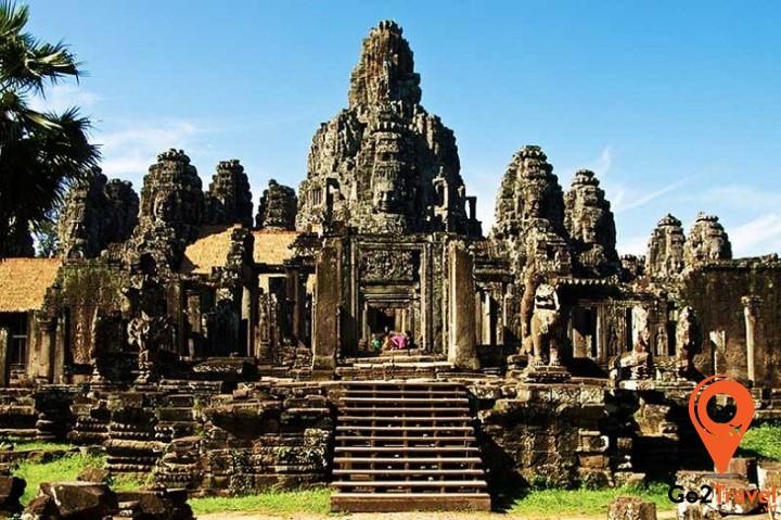 Kiến trúc thể hiện rõ tư tưởng của Hindu giáo