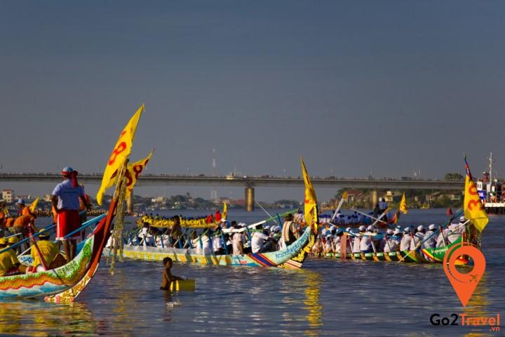 Lễ hội đua thuyền Bon Om Touk