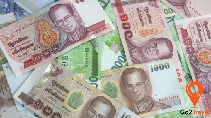 tiền tệ của Thái là đồng Baht