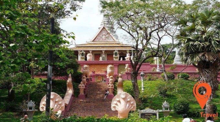 Các địa điểm du lịch nổi tiếng tại Phnom Penh