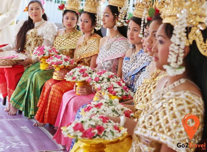 Tết cổ truyền Campuchia diễn ra trong 3 ngày từ 13/4 đến 15/4 dương lịch